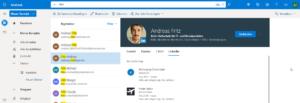 Outlook-LinkedIn